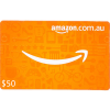 Amazon 50 AUD Digital Gift Cards Email Delivery